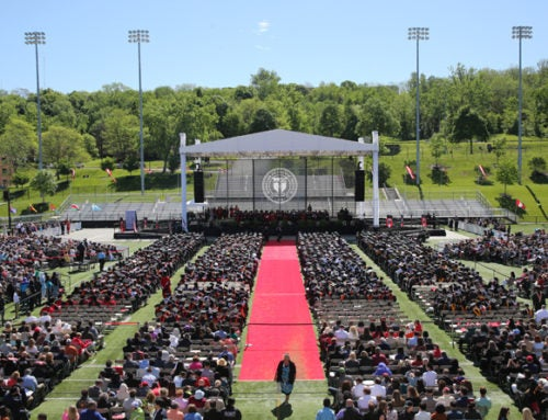More Than 1,900 Degrees To Be Awarded at 213th Commencement Ceremony