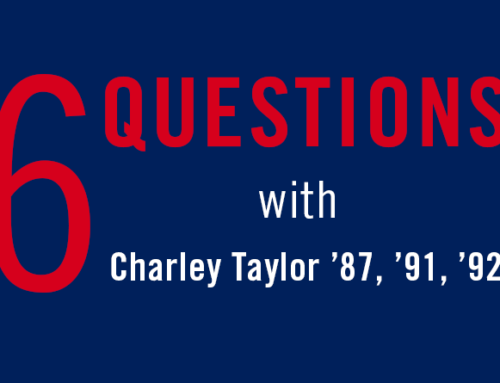 6 Questions With…Charley Taylor '87, '91, '92
