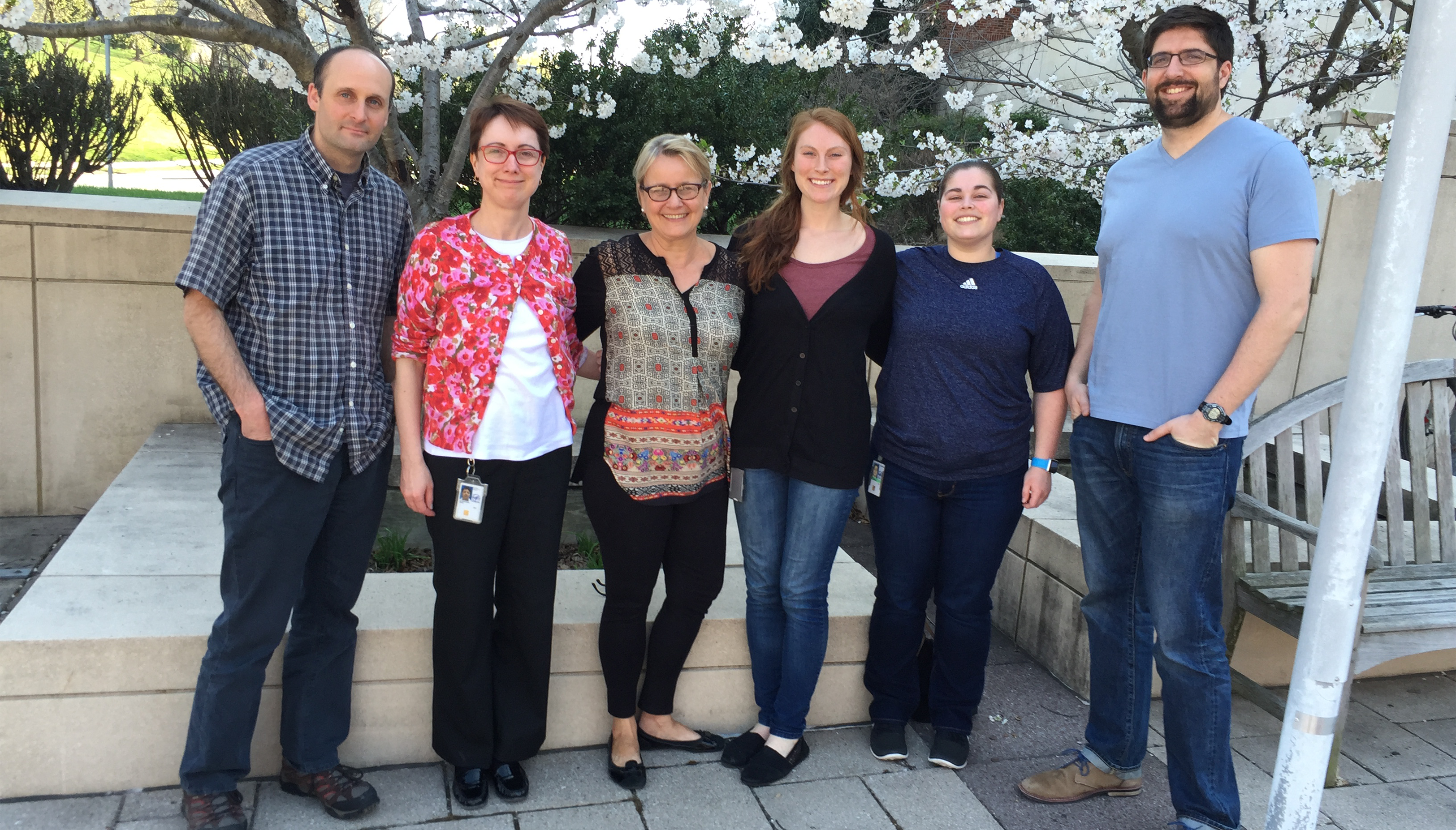 Kathryn Zoon and her lab colleagues at the National Institute of Allergy and Infectious Diseases