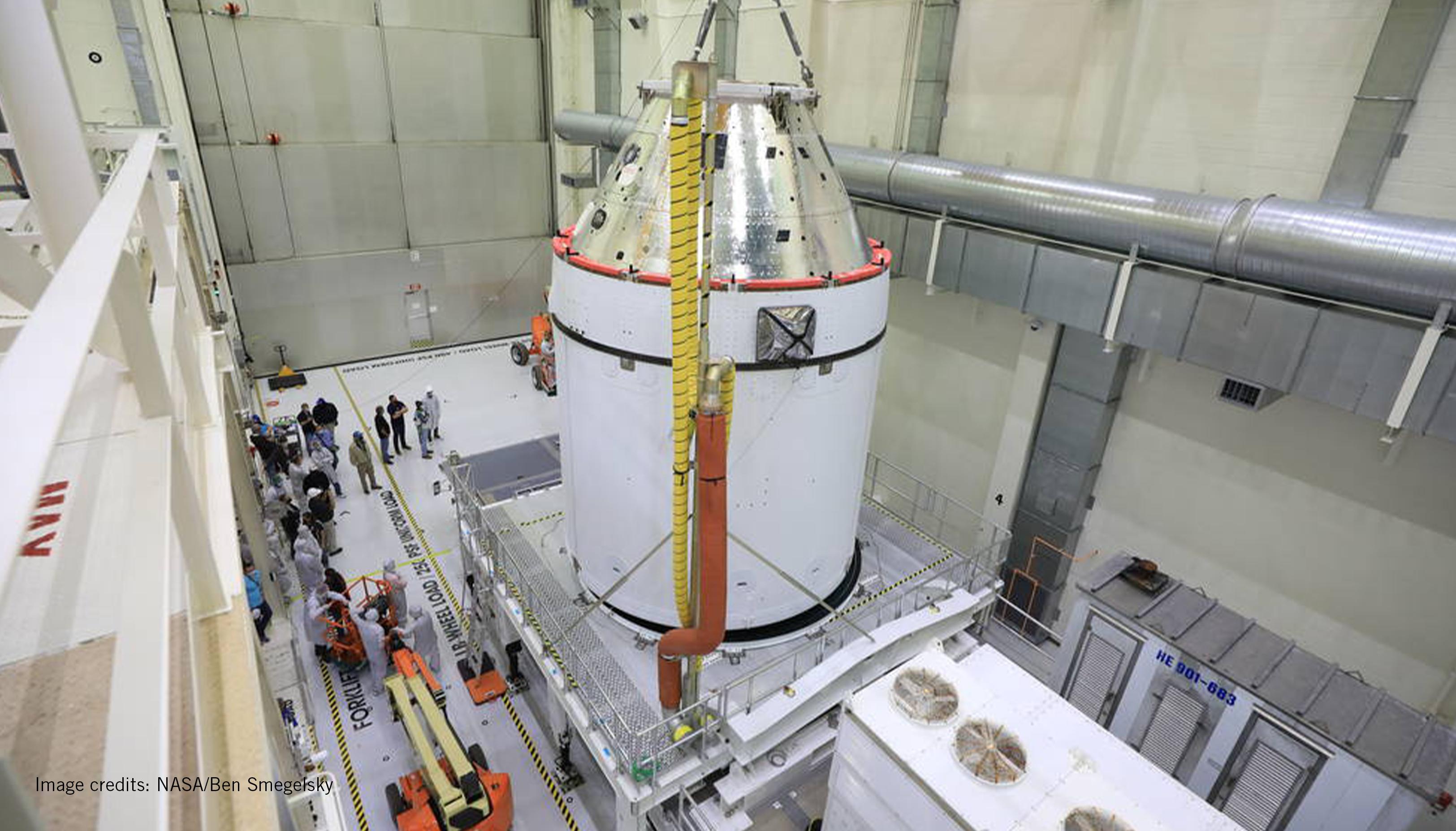 Artemis I spacecraft