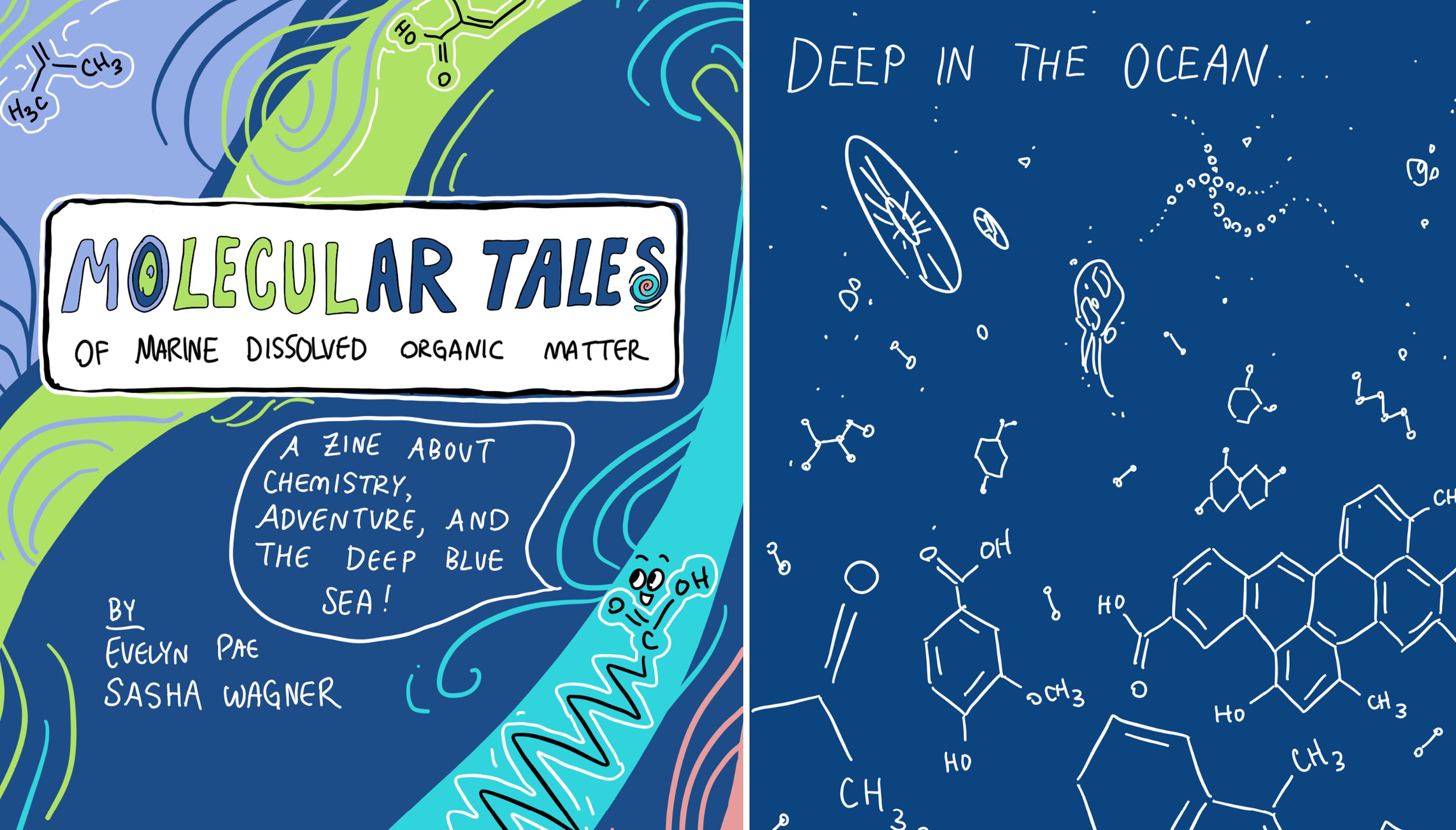 Molecular Tales Zine Cover